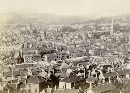 View of Bath from Beechen Cliff c.1895