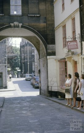 Queen Street, Bath, July 1963