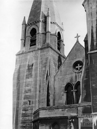St. John's Church, details from west side 1969
