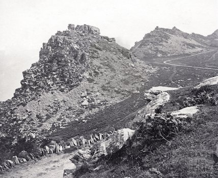 Valley of Rocks, Lynton, Devon c.1890