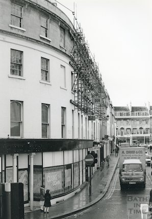 The Plummer Roddis Building, New Bond Street, Bath, c.1980