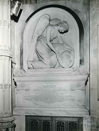 Monument to William Hoare, Bath Abbey, c.1950s