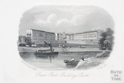 Green Park Buildings, Bath, pub 16 July 1860