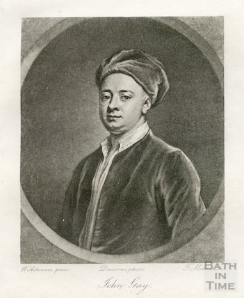 Portrait of John Gay (1685-1732)
