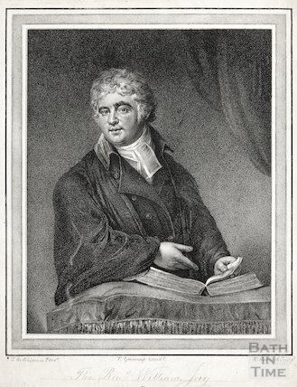 Engraving Revd. William. Jay