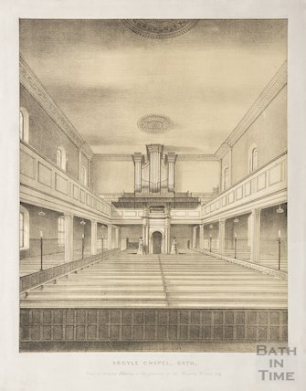 Argyle Chapel Interior 1845