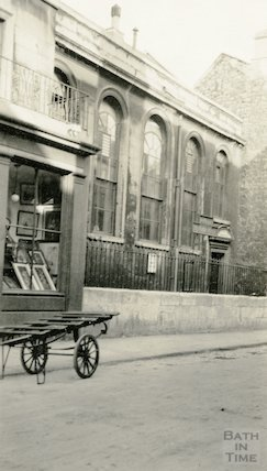 Railway Mission Hall, Monmouth Place (view of front) c.1920