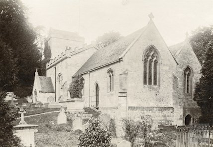 Claverton Church c.1890