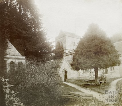 Claverton Church, Bath, c.1890s