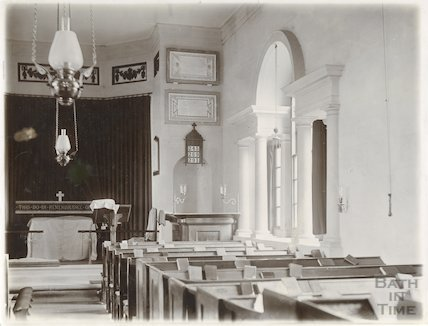 Interior, Hardenhuish Church, Chippenham c.1903