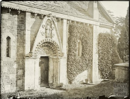 Lullington Church, North side c.1910