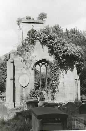 Ruin of Bathwick (Mortuary) Chapel March 1970