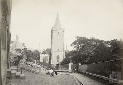 Holy Trinity Church , Bradford on Avon, c.1890
