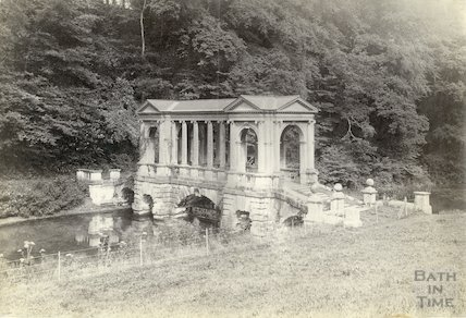 Prior Park - Palladian Bridge, c.1900