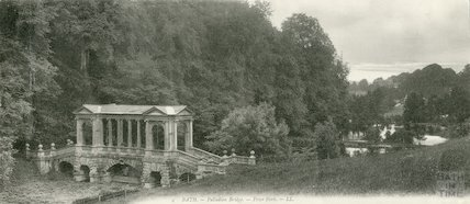 Prior Park - Palladian Bridge, 1905
