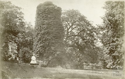 Unidentified gardens, thought to be Prior Park, c.1870