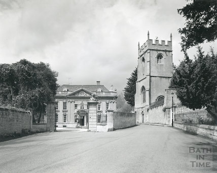 Widcombe Manor and Widcombe Old Church (St. Thomas à Becket), Bath 1975/6