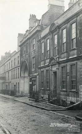 General Wolfe's House, Trim Street c.1930