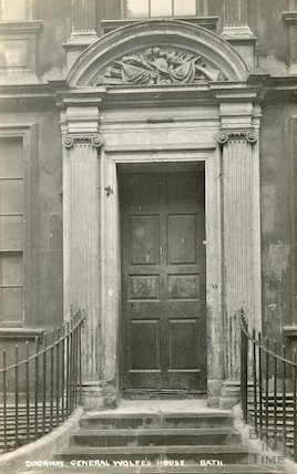 Doorway of General Wolfe's House c.1930