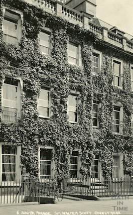 House of Sir Walter Scott, 6 South Parade c.1930
