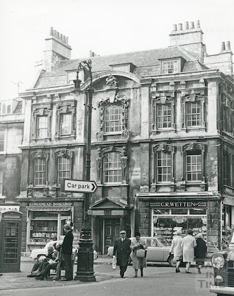 Rosewell House, Kingsmead Square 1969