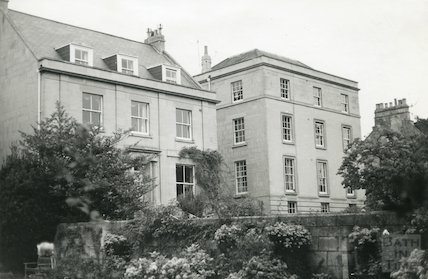 Dunedin House (left) and Lan House, Weston Road c.1960 -1970