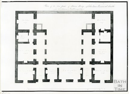 Grove Street Prison - plan of the one pair stairs story