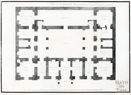 Grove Street Prison - plan of the ground storey