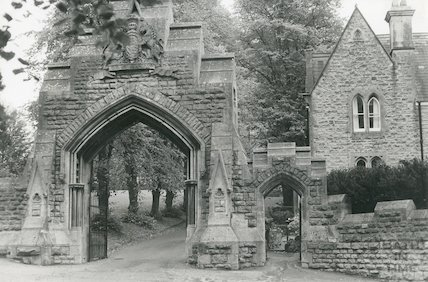 Entrance to the Royal School, Lansdown, 1969
