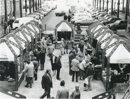 Green Park Station Market, 1986