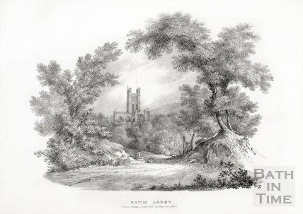 Bath Abbey, Bath c.1830