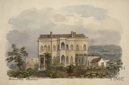 Bathwick Villa, Bath 1851