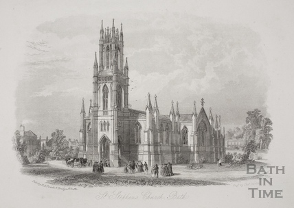 St. Stephen's Church, Bath 1886