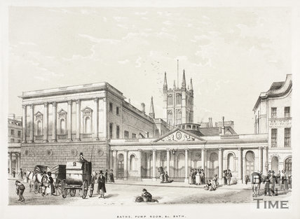 Baths, Pump Room &c., Bath