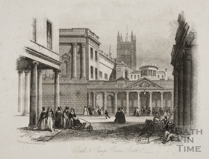 Baths and Pump Room, Bath 1842