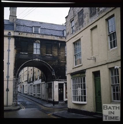 Snowdon. Trim Bridge, Bath 1972