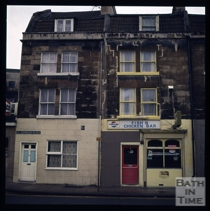 Snowdon. St. George's Place, Upper Bristol Road, Bath 1972