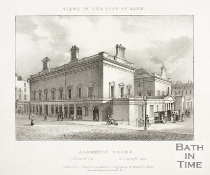 Assembly Rooms, Bath 1829