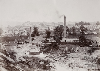 Victoria Brickworks, Oldfield Park, Bath c.1890