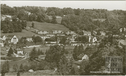 Monkton Combe village c.1950