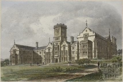 New Kingswood College, Lansdown, Bath c.1886