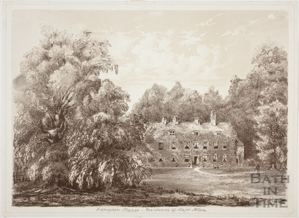 Hampton Manor, Bathampton - Residence of Major Allen