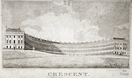 The Royal Crescent, Bath 1815