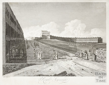 Royal Crescent, Bath 1801