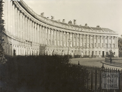 The Royal Crescent, Bath c.1930
