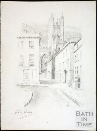 Abbey Green, Bath c.1930