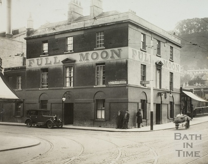 The Full Moon Hotel, 27, Southgate Street, Bath 1915