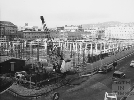 Southgate Shopping Centre, Bath 1972