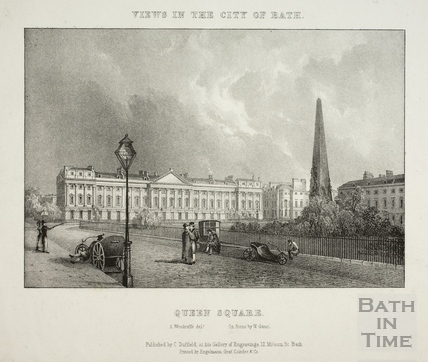 Queen Square, Bath 1828