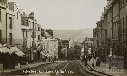 Belvedere looking south, Bath c.1915